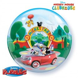 helium filled mickey mouse bubble balloon