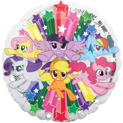 helium filled my little pony foil balloon from cardiff balloons