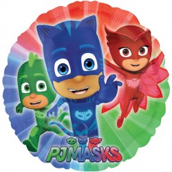 helium filled pj mask foil balloon from cardiff balloons