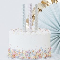 Gold Pastel Cake Fountains From Ginger Ray