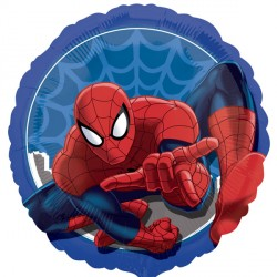 helium filled spiderman foil balloon from cardiff balloons