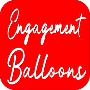 Engagement Balloons from Cardiff Balloons