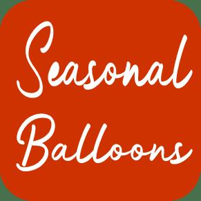 Seasonal Balloons From Cardiff Balloons