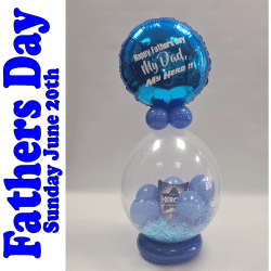 Fathers Day Chocolates In A Balloon From Cardiff Balloons
