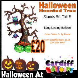 Halloween Haunted Tree Balloon