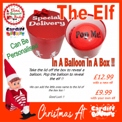 The Elf In A Balloon In A Box