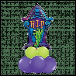 Large Halloween Sitting Balloon
