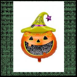 Halloween Pumpkin Head Balloon