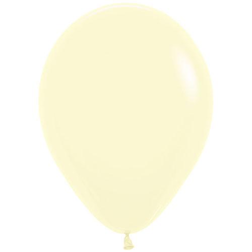 Sempertex Pastel Matte Yellow