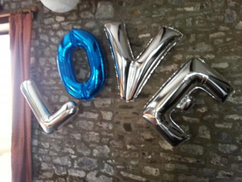 Giant Letters Available In Many Colours