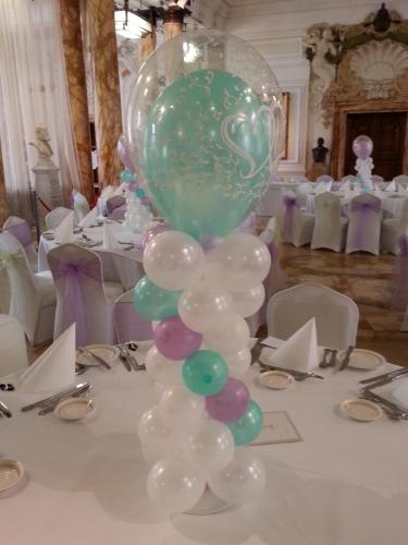Mini Table Stackers. Great for helium banned venues #nohelium #heliumfreeballoons