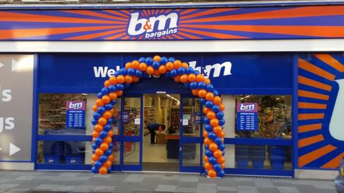 B&M Balloons Launch a store in Pontypridd. #cardiffballoons