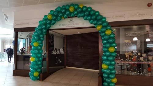 Christopher George Jewellers In Cardiff Celebrating Wimbledon