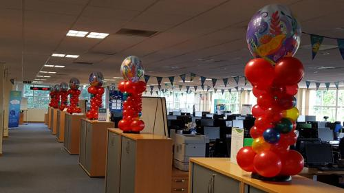 SSE event. Corporate Balloons from Cardiff Balloons