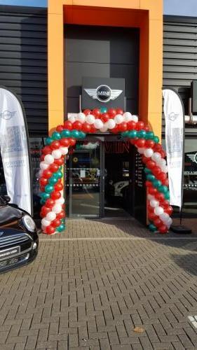 Grand Sales Event at Sytner Mini Cardiff. #corporateballoons