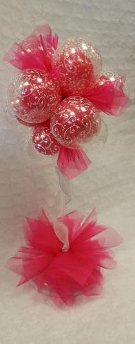 Double Bubble Fluff Ball #wedduingballoons
