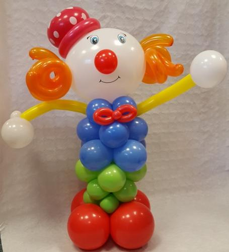 Billy The Clown From Cardiff Balloons #birthdayballoons