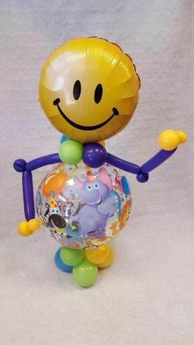 Bubble Man. Great for Birthdays Of All Ages From Cardiff Balloons