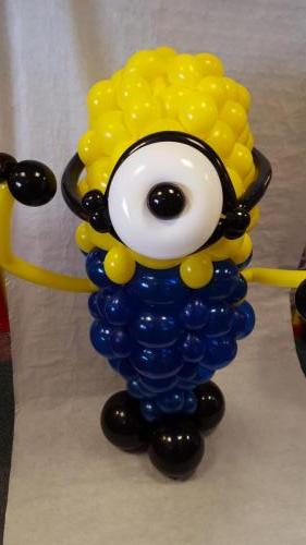 Large Minion. Stands Around 4ft Tall. from Cardiff Balloons