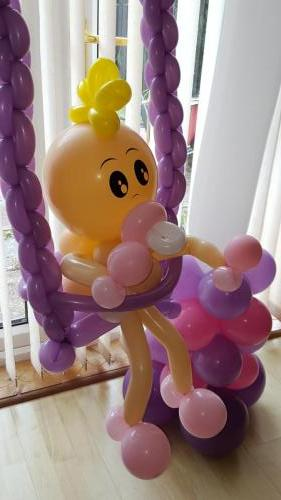 Baby In A Swing From Cardiff Balloons