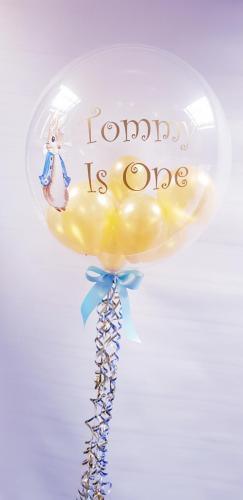Personalised peter rabbit balloon