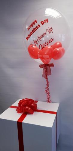 Personalised Balloon In A Box