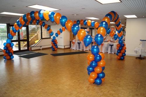 Fantastic Dancefloor Canopy by #cardiffballoons